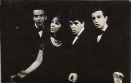 Los Vocalistas: Mauricio Herrera, Viola, Nacho Méndez y Jacobo Holtzman