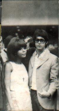 Robertha y Paul McCartney