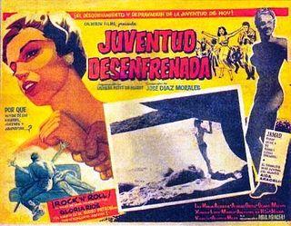 Cartel de la película Juventud desenfrenada