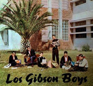 Los Gibson Boys con El Topolino y Xavier Reyes