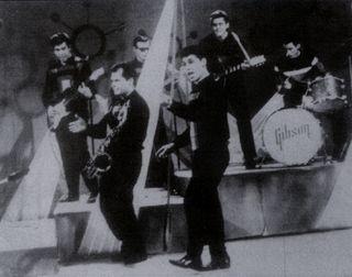 Los Gibson Boys tocando en Canal 2