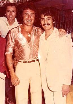 Fito Giron Jesus Guerrero y Hugo Velasco en Bocaccio Discotheque