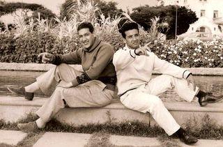 Luis Durand y Jorge Botteri