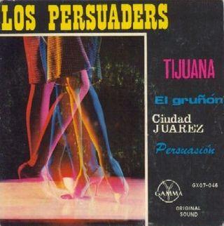 EP Los Persuaders, Mexico 1962