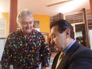 Johnny Ortega y Jaime Almeida