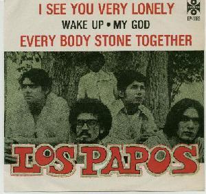 """Portada del EP """"Los Papos"""""""