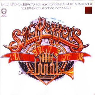 Portada del LP mexicano Sgt Peppers Lonely Hearts Club Band de los años 70