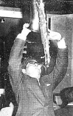 Filemón Guzmán, saxofonista de Los Salvajes