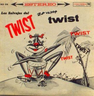 LP 'Los Salvajes del Twist'