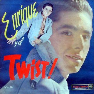 Portada 3er LP de Enrique Guzmán con Los Salvajes