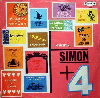 """LP de """"Simón + 4"""""""
