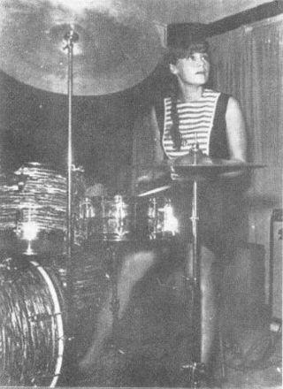 Liza Rossell en bateria