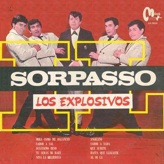 Portada LP de Los Explosivos