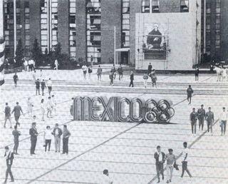 Olimpiada en Mexico