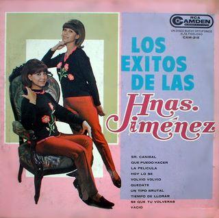 LP Los éxitos de las Hnas. Jimenez