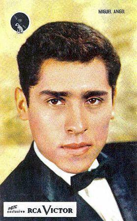 Miguel Angel - postal promocional RCA