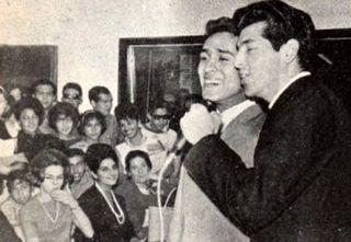 Miguel Angel y Paco Cañedo