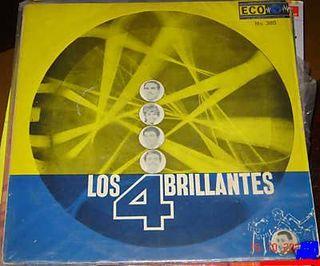 Portada LP Los Cuatro Brillantes publicado en México