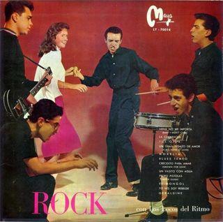 LP 'Rock' de Los Locos del Ritmo (Maya)