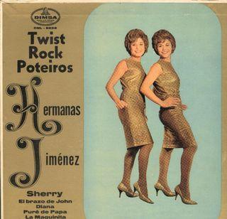 EP de Las Hnas. Jimenez - Twist, Rock y Poteiros