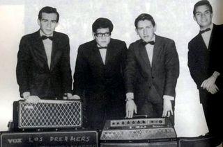 Los Dreamers - Memo Rodríguez es el primero de la derecha