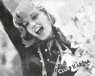 "Postal del ""Club Karina"""