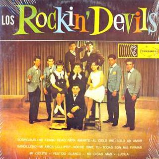 Primer LP Rockin Devils, Discos Tambora