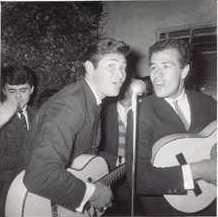 Primera presentación de Los Hnos. Carrión en 1961