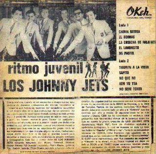 Contraportada LP Ritmo Juvenil
