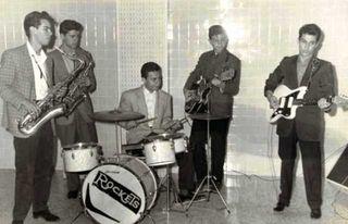Los Rockets en 1960
