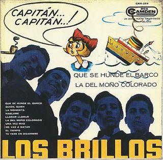 Portada del LP 'Los Brillos'