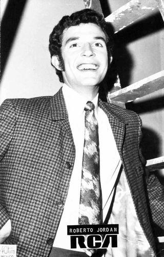 Roberto Jordan en su etapa de RCA