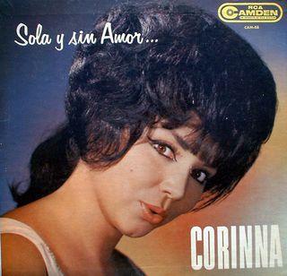 """Portada del LP """"Sola y sin amor"""" de Corinna"""