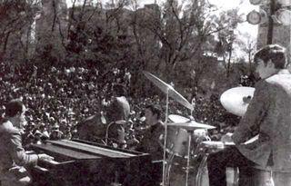 Los Peg en vivo en La Alameda Central, D.F.