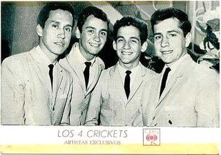 Los 4 Crickets: Gonzalo, Jorge, Ricardo y Marco