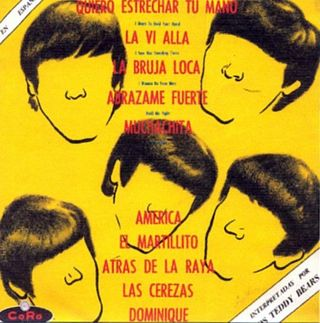 LP Los Teddy Bears, Mexico 1964