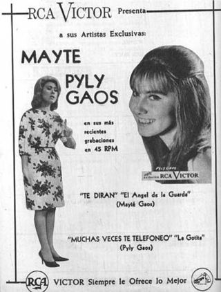 Poster promocional de Mayte y Pily Gaos