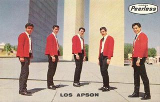 En Cd. Satelite1964: Gilberto, Francisco, Raul, Arturo y Frankie