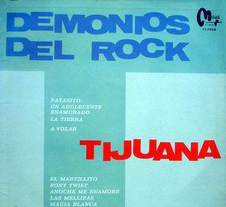 LP de Los Demonios del Rock
