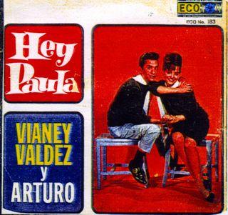 LP Hey Paula - Arturo con Vianey Valdez