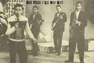 Rene Ferrer con Los Playboys