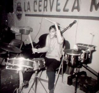 Leon Rivas 'Pipo' baterista Playboys 1962