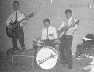Los primeros Sparks con Lalo Toral en la guitarra