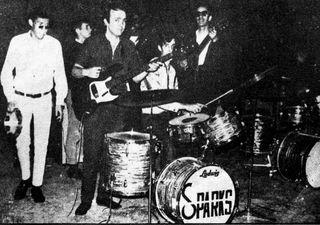 Los Sparks (Feb 67) con el Diablo en la batería