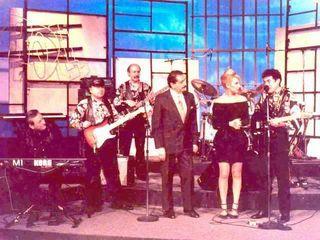 Los Blue Caps en vivo años 90