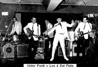 Victor Ponti y Los 4 Del Plata en la sala Las Vegas de Barcelona.