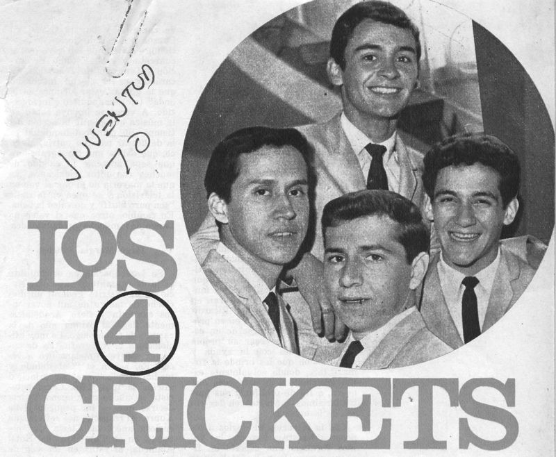 Crickets juventud 70