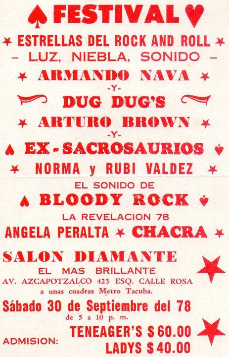 Poster festival 1978