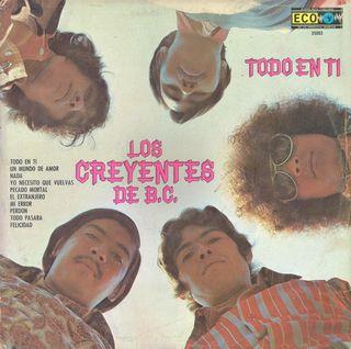 Los Creyentes de B C FRONT COVER
