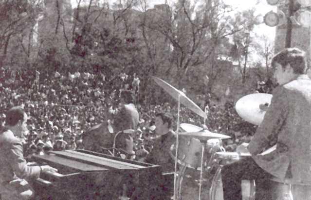 Los Peg concierto